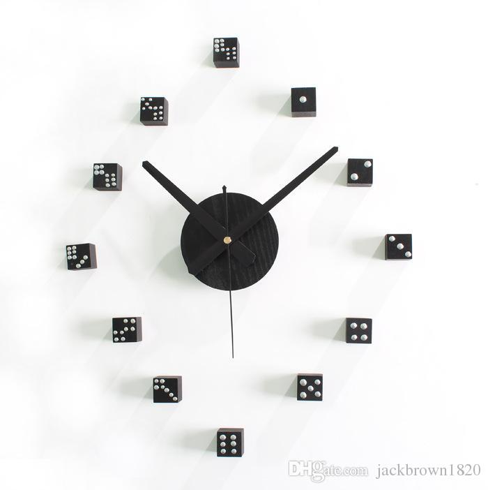 Creative Mahjong Box Wooder Diy Wall Clock Clocks For Living Room Home  Decor Wood Watch Big Wall Clocks For Sale Black Clocks For Kitchen From  Jackbrown1820 ... Part 79