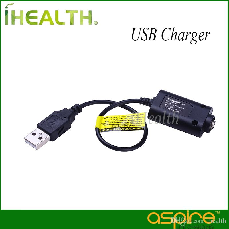 Aspire USB Charger ego Thread DC 4.2V 420MAH/1000MAH for All eGo Battery 100% Original Aspire eGo USB Charger