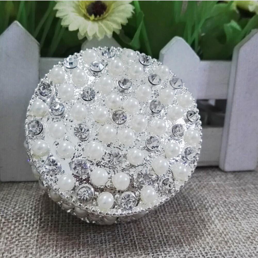 2017 2016 Hot White Jewelry Box Pearl Jewelry Box Trinket Box Gift