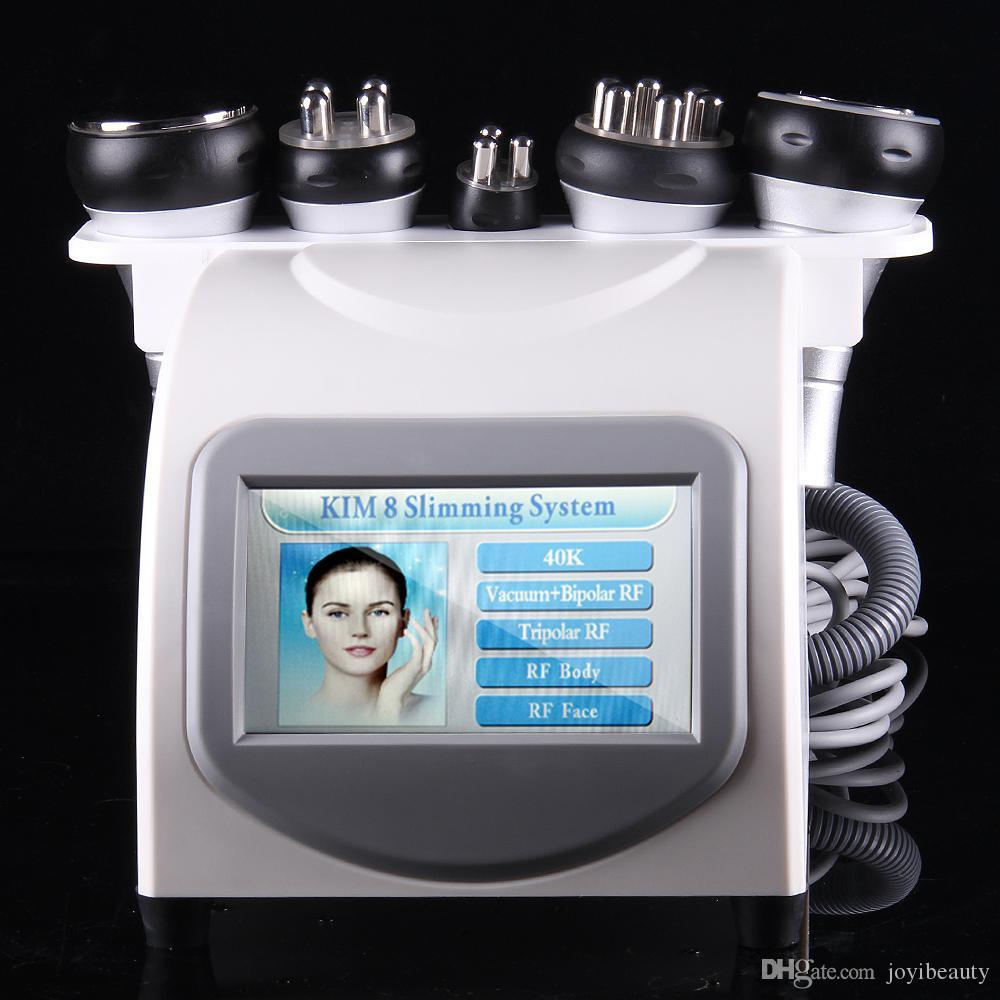 Ultrasonic Lipo Removal Machine for Fat Reduction Body Shaping Face Lifting Liposuction Cavitation Slimming Multipolar RF Strong Vacuum