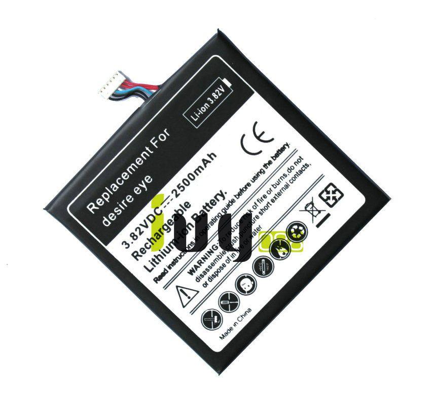 / 2500mAh B0PFH100 Batterie De Remplacement Pour HTC desire eye M910X M910n Batteries Batteria Batterij