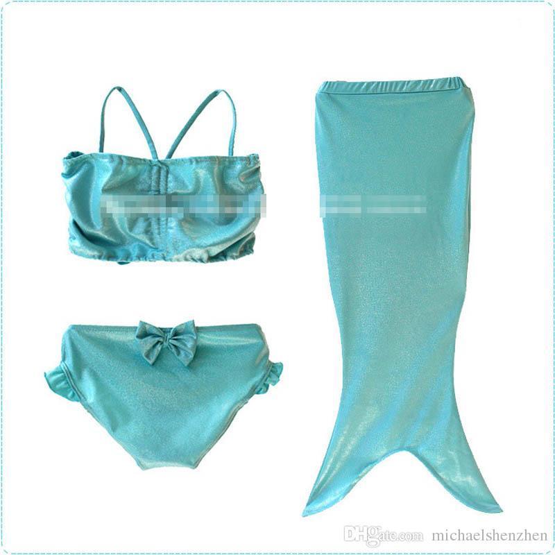 소녀 인어 꼬리 bowknot 비키니 코스프레 수영복 DHL 4 디자인 비키니 수영복 수영복 비치웨어 수영 sweetgirl B