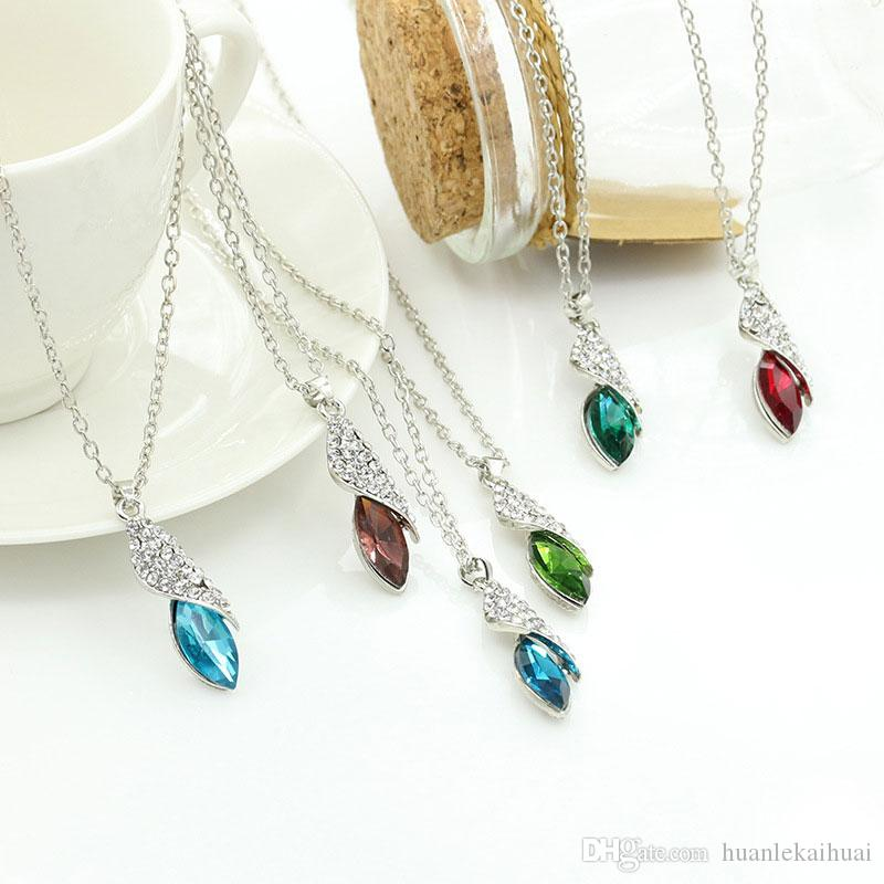New Austrian crystal necklaces pendants Korean version of the sugar treasure Desert Star pendant Charms for Jewelry making