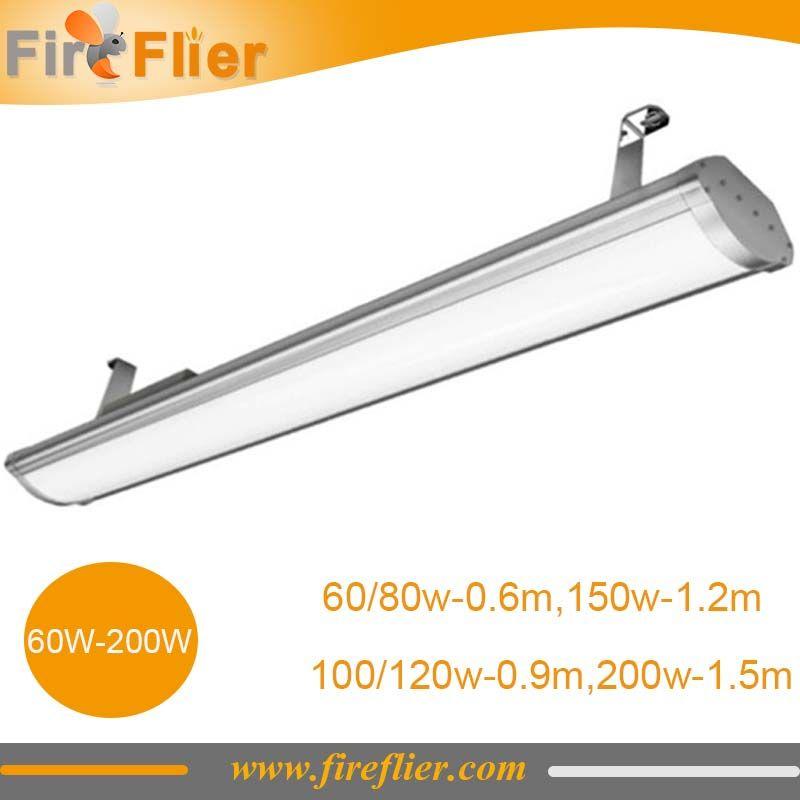 60w 80w 100w 120w 150w 200w Linear High Bay Light Led 2ft