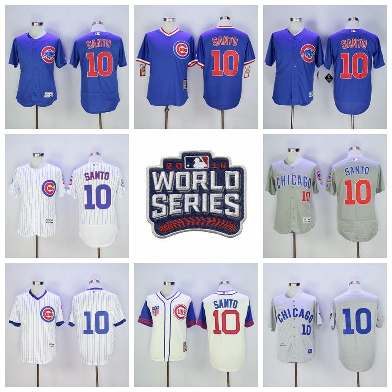 abb3a8da ... germany 1969 gray wool throwback jersey 2017 world series postseason 10  ron santo jersey chicago cubs