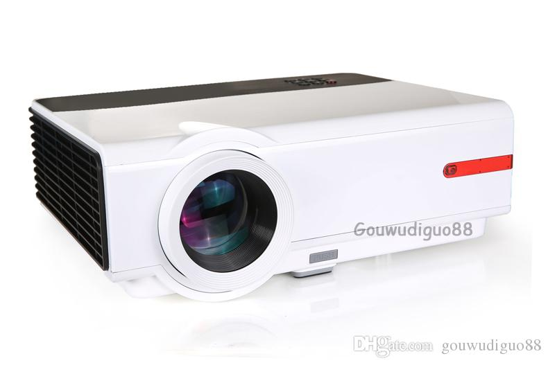 2018 New High Brightness 6500 lumens WiFi Smart TV Projector Full HD 1080P Video Games Home Theater Projector LED Projector HDMI