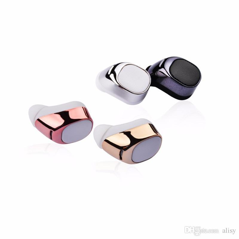 Super Mini unsichtbare Bluetooth Kopfhörer S630 tragbare kleinste drahtlose Ohrhörer Handfree für iPhone Samsung Handy von Alisy