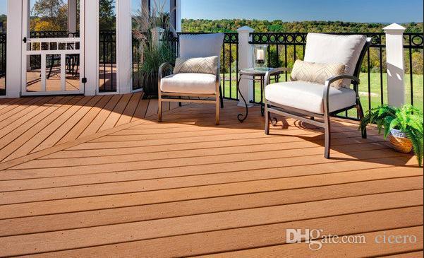 Acquista decking composito legno plastica costruzione di ponti