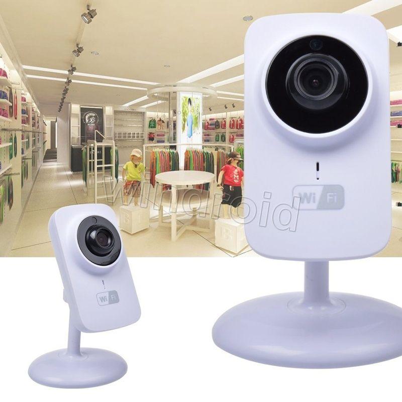 El más barato V380 720P P2P Mini cámara IP inalámbrica Wifi Monitor de bebé para soporte de seguridad para el hogar Visión nocturna con paquete minorista DHL gratis