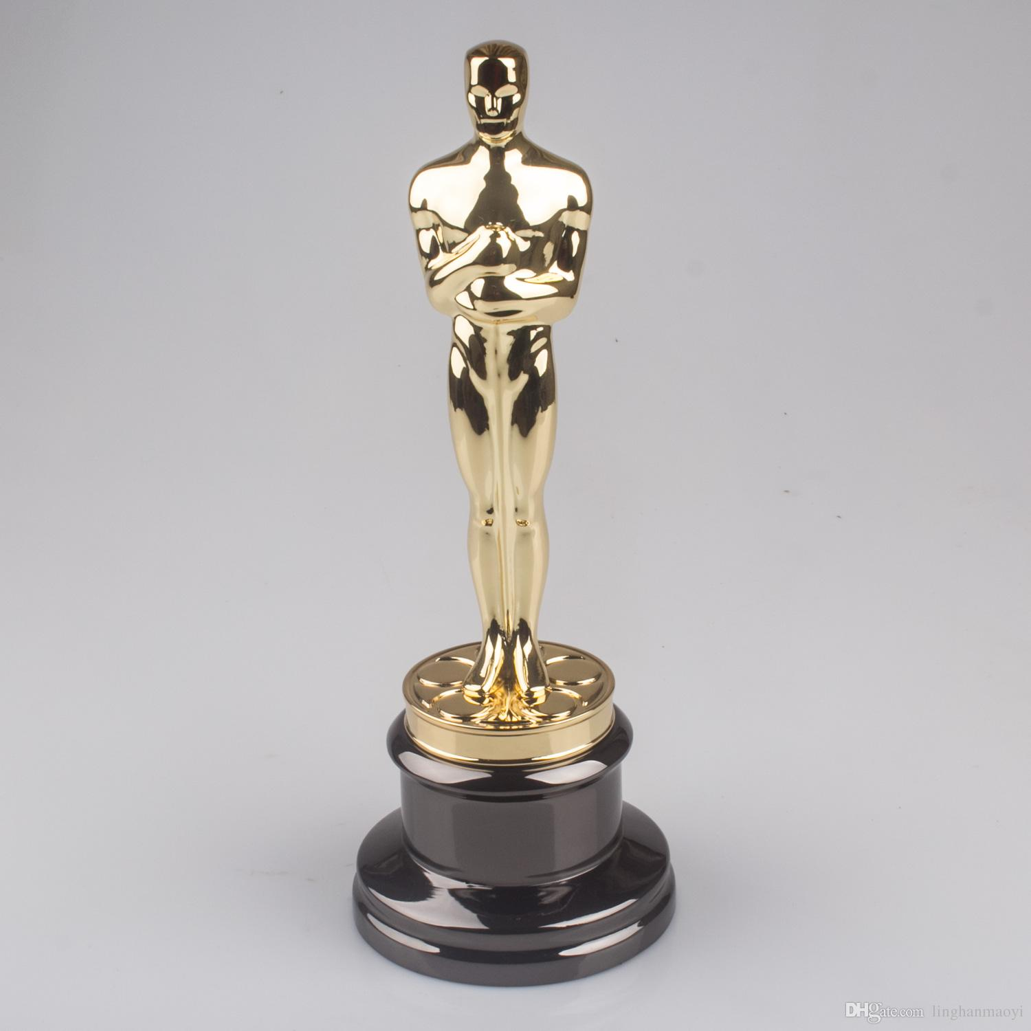 Best Oscars Trophies Metal Trophy Custom Made Personality Trophies Lettering Creative Christmas Present Under   Dhgate Com
