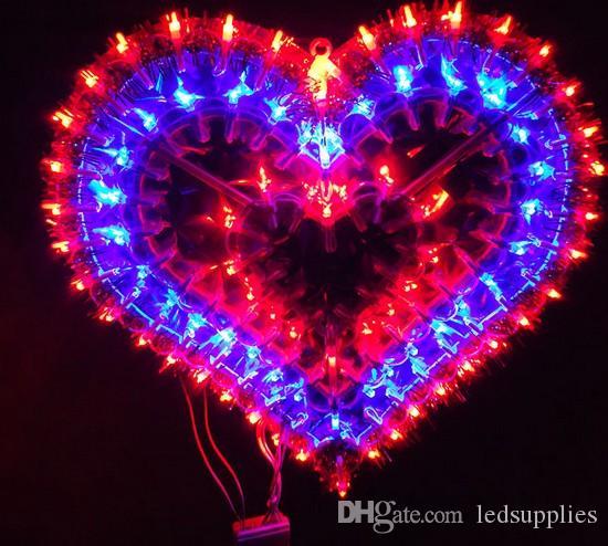Das Frühlingsfest Lichter Dekoration Valentinstag Hochzeit Layout Fensterdekoration Liebe Ehe Raumdekoration LED-Lampe AC110V-220V