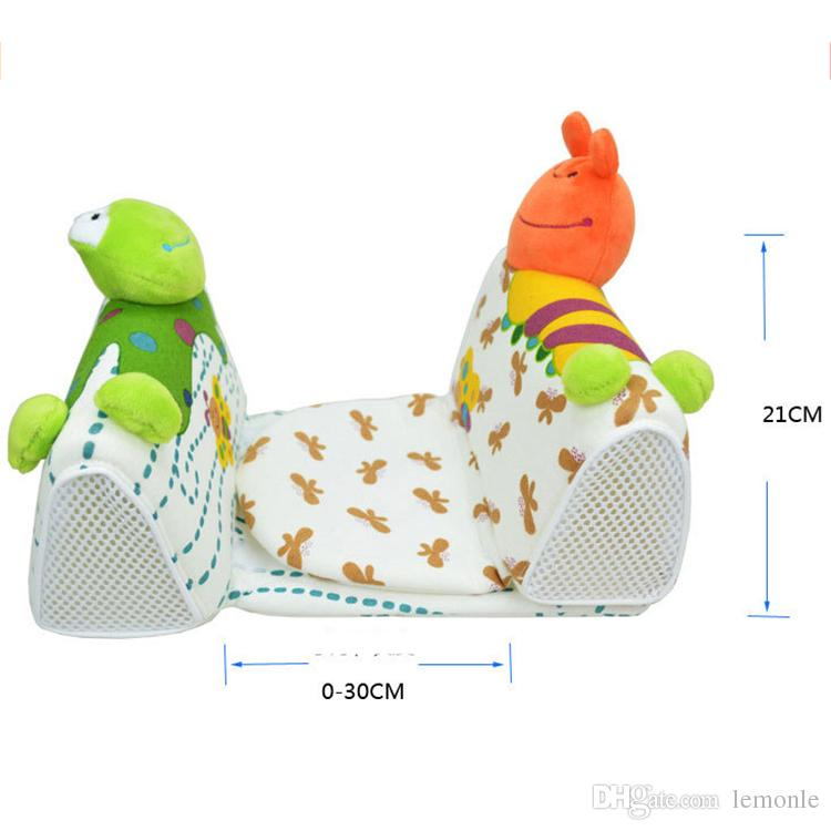 Animals Shape Baby Pillow Anti Rollover Baby Safe Anti Roll Pillow Sleep Head Positioner