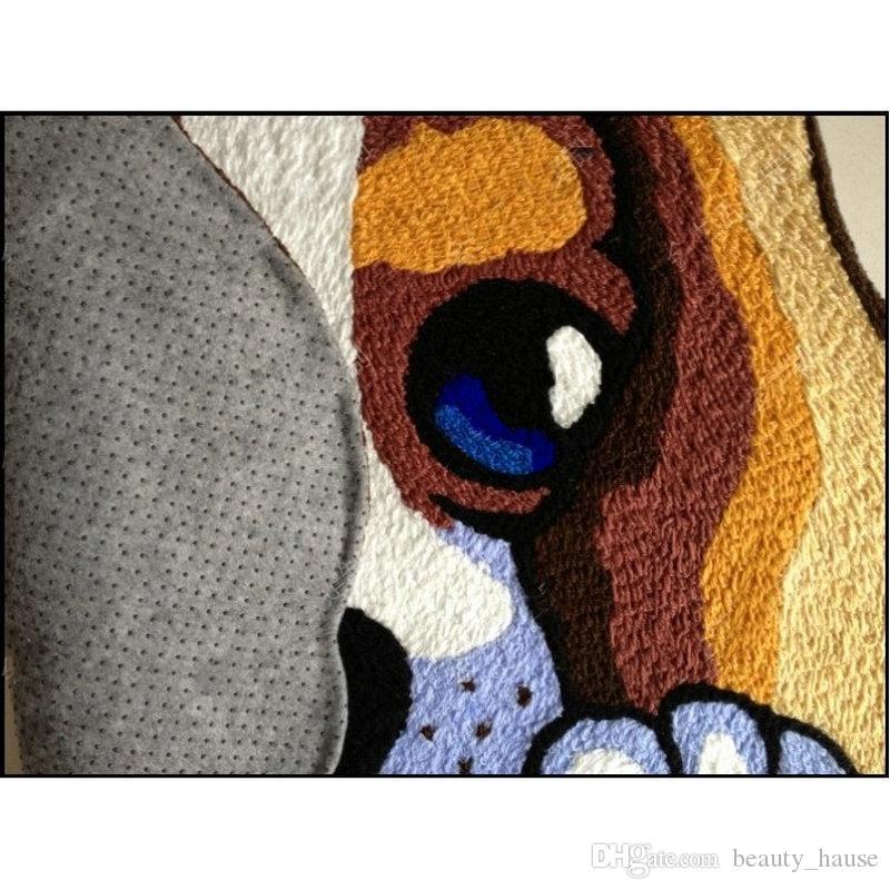 성격 손 걸려 참신 강아지 매트 거실 문 매트, 뉴 놓은 현관 앞에서 바보 층 Karpet 침실 양탄자 선물