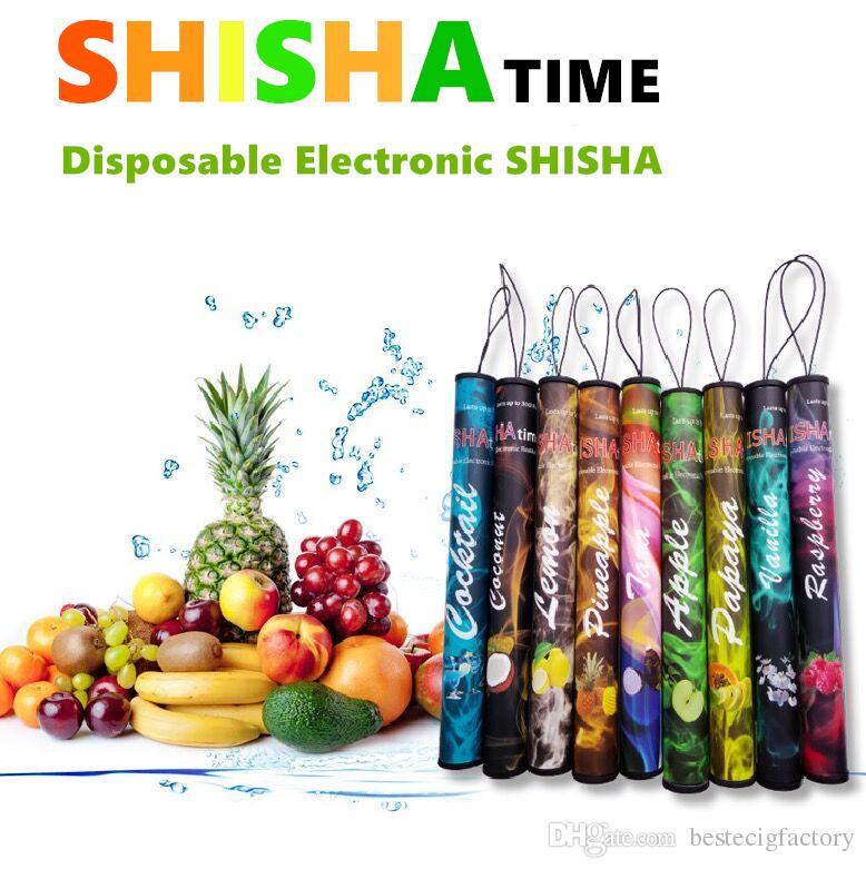 Disposable E Cigarette colorful 500Puffs ShiSha Pen Smoking Good feeling 280mAh hookah Pipe SOMKE Stick Electronic Cigarettes Smoking elect