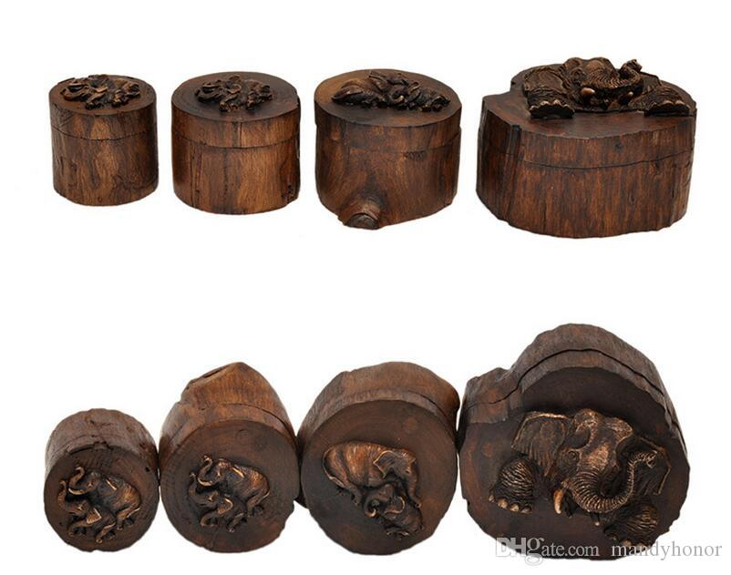see larger image - Wood Jewelry Box