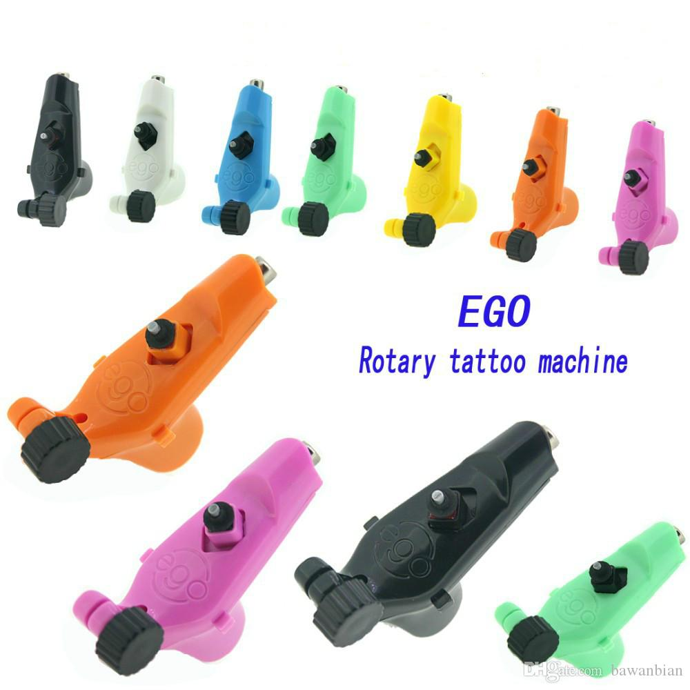 Ego Rotary Tattoo Machine Gun Available Light Weight Supply For Tattoos Machine Kits New Legend