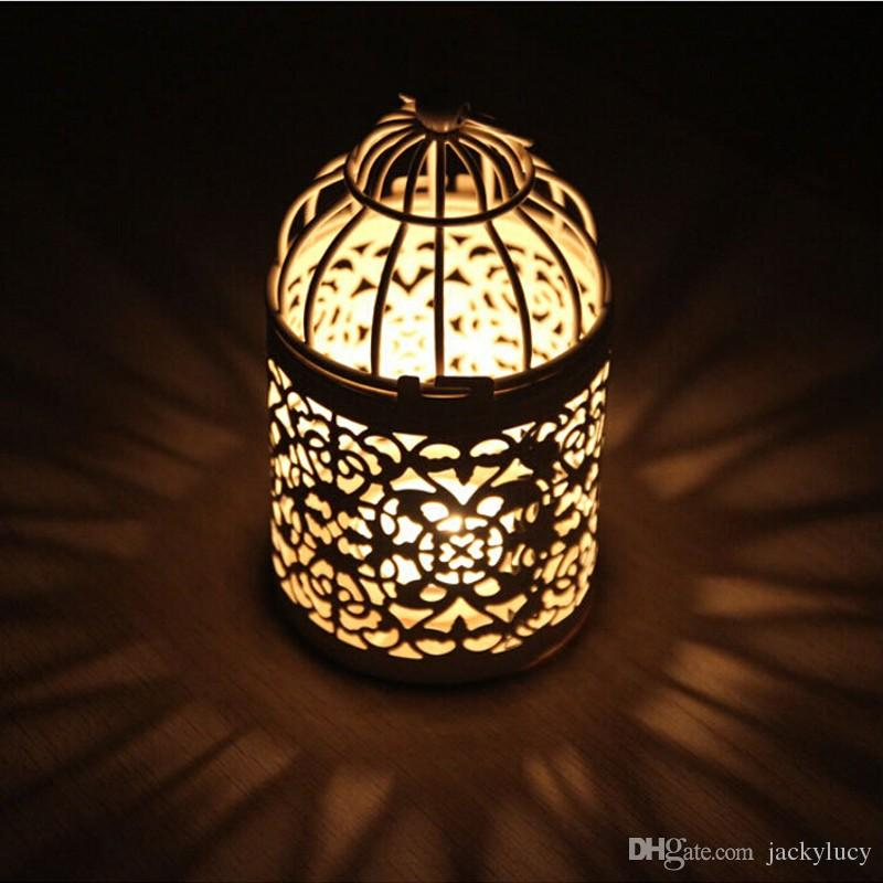 New Arrival Romantic Wedding Favours Iron Lantern Candle Holder for Wedding Table Decorations Supplies Free Shipping