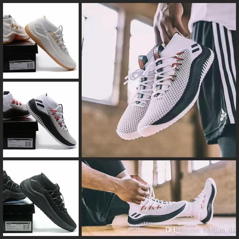 low priced 01cd7 3a0f4 Wholesale lillard shoes for sale - 2017 New D Lillard Basketball Shoes Dame  Rip City White