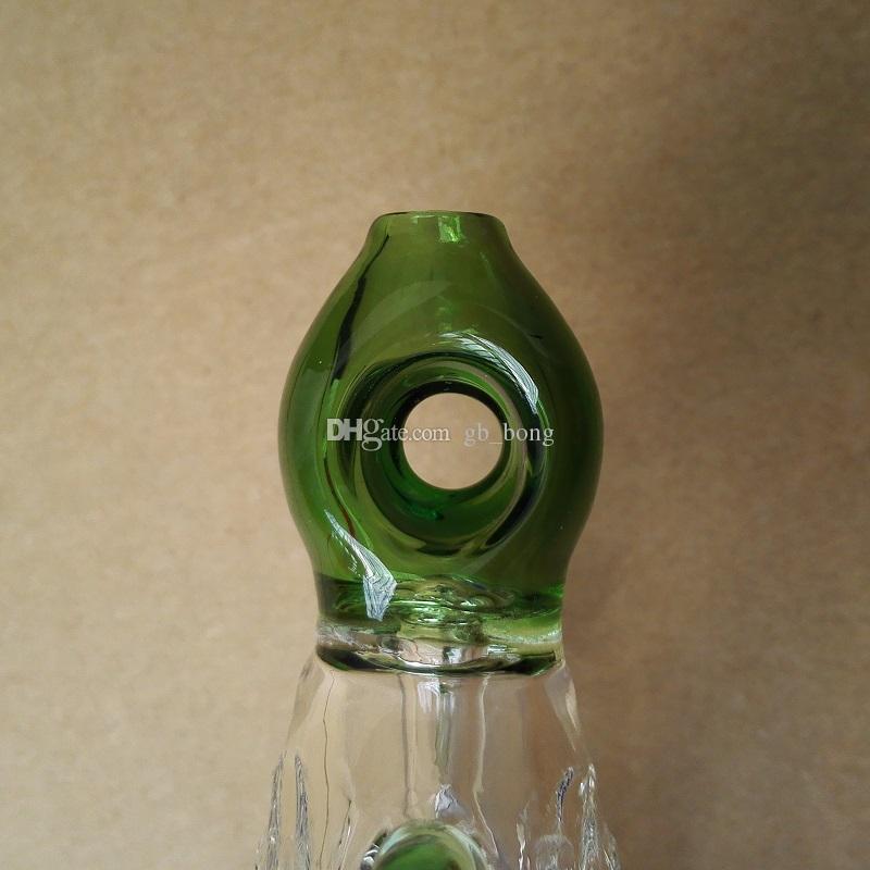 Nectar Collector Perc Pendentifs Kit avec 14mm Titanium Nail Wearable Glass Bongs plate-forme pétrolière Refroidi à l'eau et Spillproof Top Qualité
