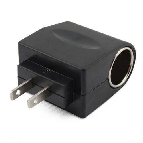 110V - 240V Plug AC para 12V DC Car Lighter Conversor Adaptador de soquete