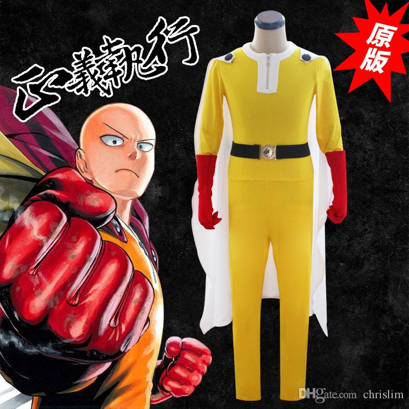 One Piece Halloween Set To Return To Tokyo One Piece Tower: Japanese Anime One Punch Man Cosplay Saitama Costume