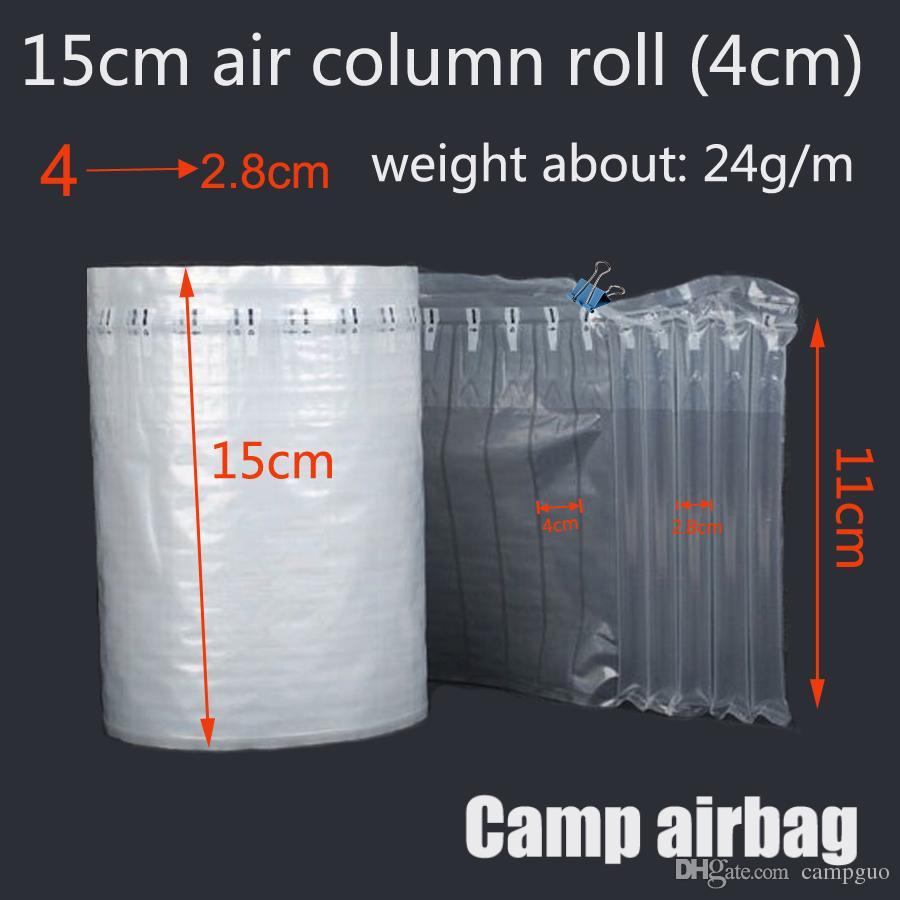 15CM Ampio rotolo gonfiabile Air Donnage Bag Air Column 4CM Buffer Bag Proteggi il tuo prodotto Merci fragili