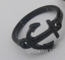 Accessori moda oro argento placcato pistola nera ancoraggio dito punk piccolo anello mini midi il regalo degli uomini delle donne