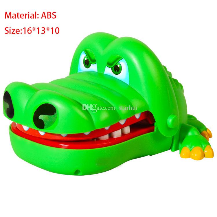 Children Toys Crocodile Tooth Toys Big Mouth Will Bite Fingers Toy Crocodilefree Kids Novelty Games Toys Gift WX-T84