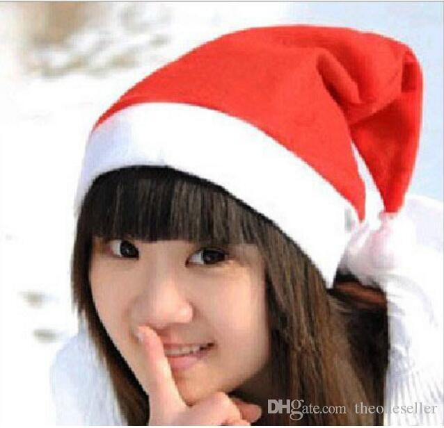 Cappelli del cappello di Natale del cappuccio di Natale del cappello del Babbo Natale di cappucci del cappello di Natale dei cappucci di Natale