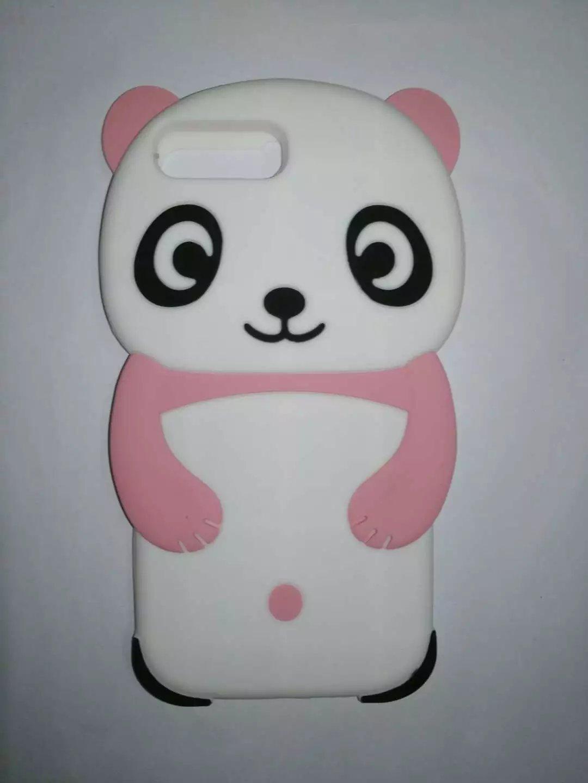 Cartoon Silicone Case For Apple iPhone 7 7 Plus 6 6 Plus 5 5S 5C 4S 3D Cute Panda Soft Silicone Case For iPhone 7 7 Plus