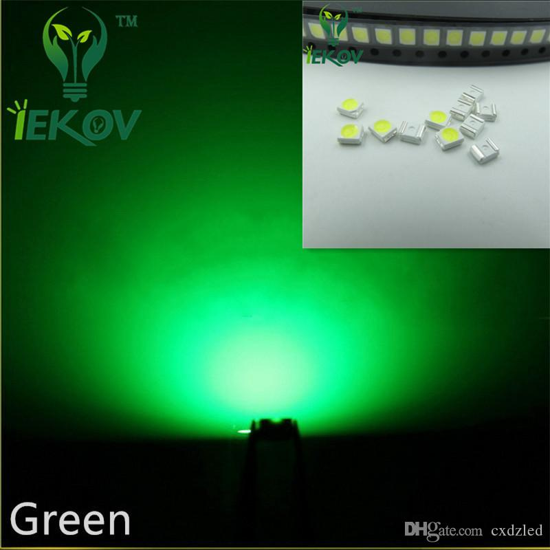 2835 0.2W SMD Green LED Super Bright Light Diode High Quality SMT Chip lamp beads Suitable for bicycle and Car DIY