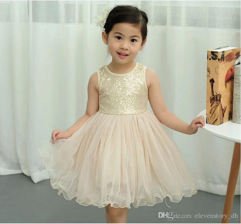 Großhandel Mädchen Sommer Baby Kinder Princess Tutu Tanzkleid ...