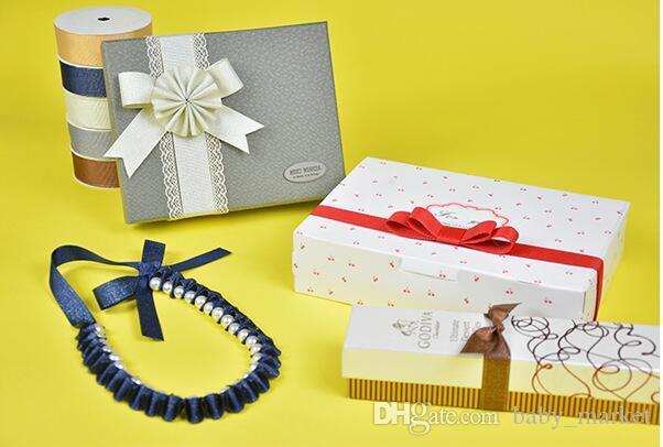 15% de réduction! 196 couleurs 200yards / 7/8 pouces solide ruban gros-grain cheveux arc fournitures, bricolage arc accessoires de cheveux, paquet cadeau, décor de mariage, etc.