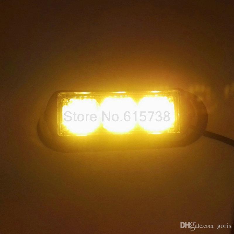 2 шт. 3 СВЕТОДИОДНЫЕ Водонепроницаемый Автомобиль Грузовик Аварийный свет Вспышки сигнальные огни автомобиль авто грузовик lightbar светодиодный Стробоскоп