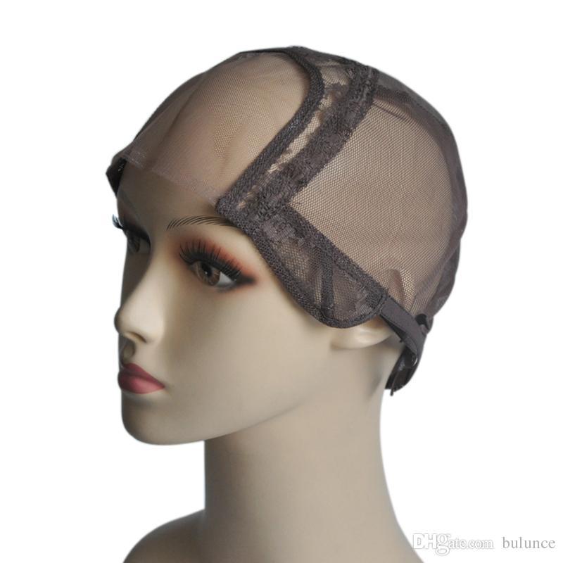 Top Quality 4 4 U Part Lace Wig Cap Base Weaving Cap