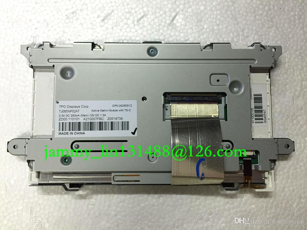 Display LCD 6.5 TJ065NP02AT originale con touch panel schermo LCD di navigazione auto VW Skoda