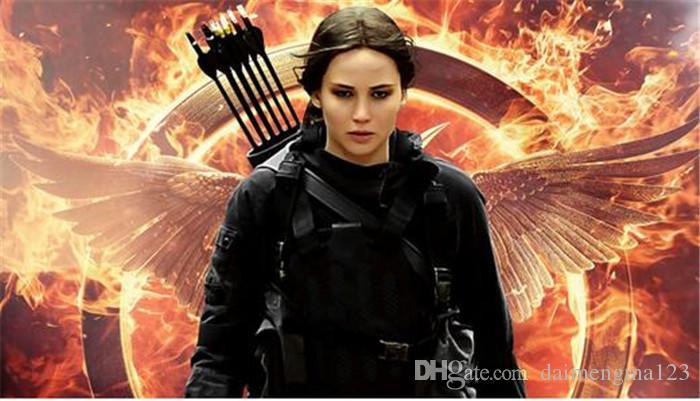 The Hunger Games Colliers Inspiré Mockingjay Et Collier Pendentif Flèche, Authentique Prop Imitation Bijoux Katniss Film D800