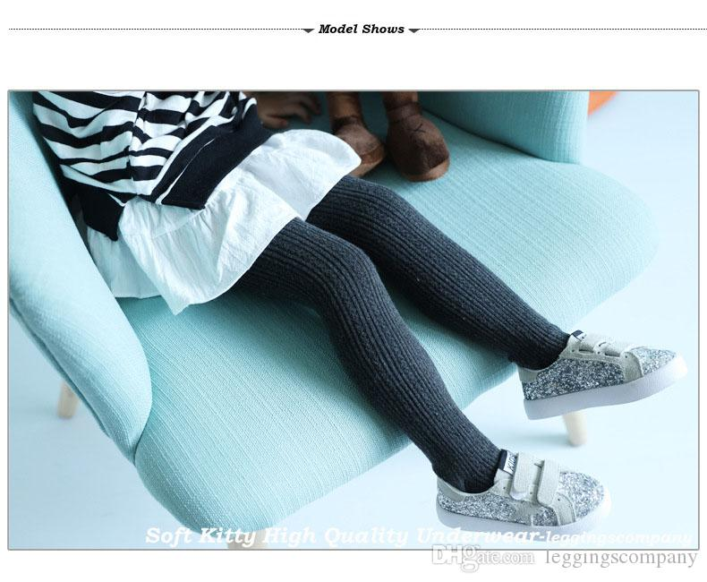 Wholesale High Quality Cute Stirrup Cotton Children Kids Girl Leggings Spring Autumn Autumn