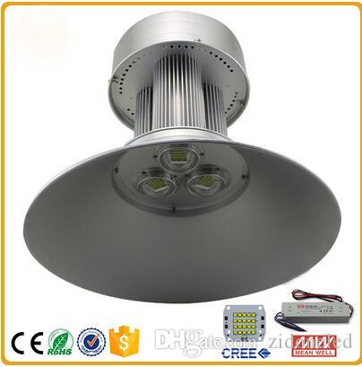 LED High Bay Light led Industrial Lights 100W 150W 200W Energy Saving Lamp Cree chip Meanwell driver for Factory Workshop lighting