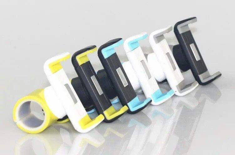 hochwertiger Handyhalter für Laufband oder Einkaufswagen 50mm bis 85mm Handy.