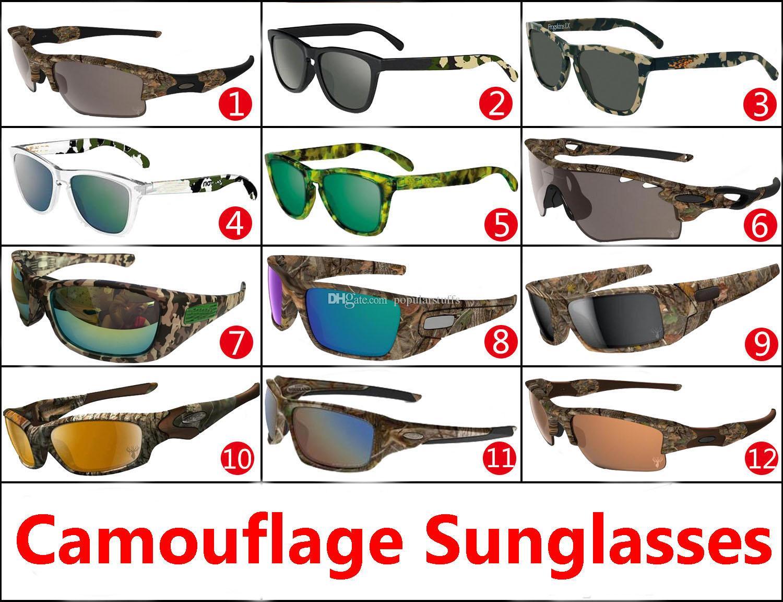 bfb7f8a2d4 New Camo Brand Designer Sunglasses Mossyoak Realtree Camouflage Sunglasses  Eyewear Sun Glass .