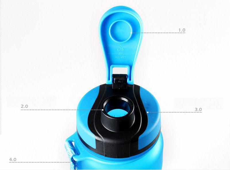 1000ML Sports Outdoor Water Bottle - Water Lemon Bottle Juice Healthy Eco-Friendly Bottles With Lid