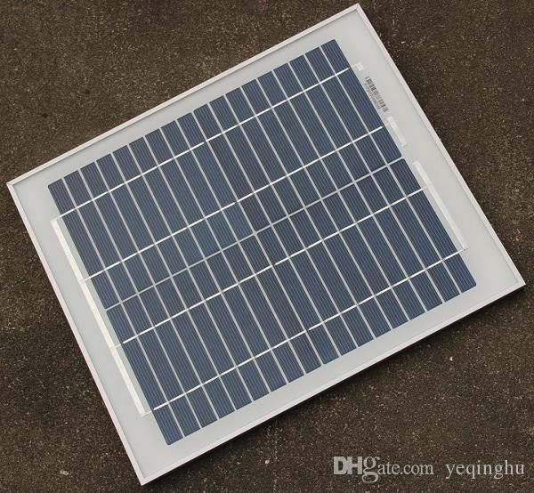 High Quality 10W 18V Polycrystalline Silicon Solar Panel Used For 12V Photovoltaic Power Home DIY Solar System