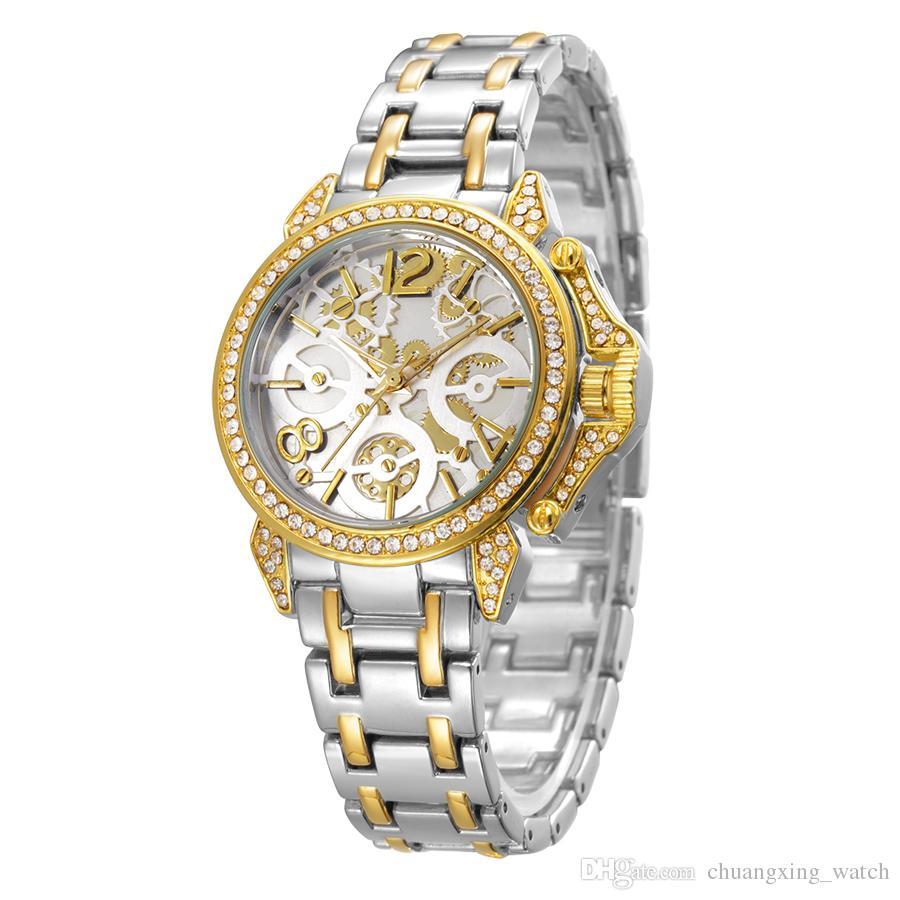 def05758fd4d BELBI Marca De Relojes Lujo Para Mujeres Hebilla La Joyería Relojes Cuarzo  De La Aleación Encanto De La Muñeca Del Online Buy Watch Buy Wrist Watches  From ...