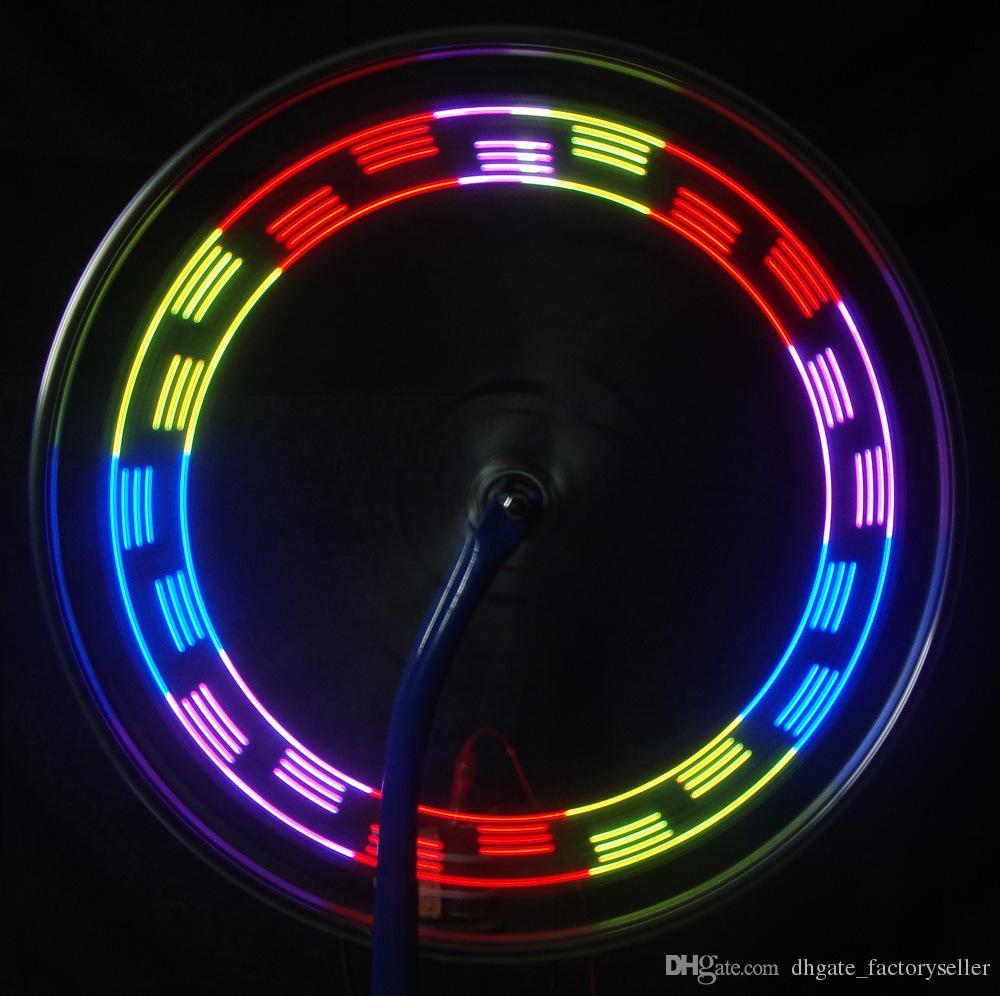Fashion LED Bike Spoke Light 14 LED Cycling Light Wheel Spoke Bike Light Spoke Light 30 Changes