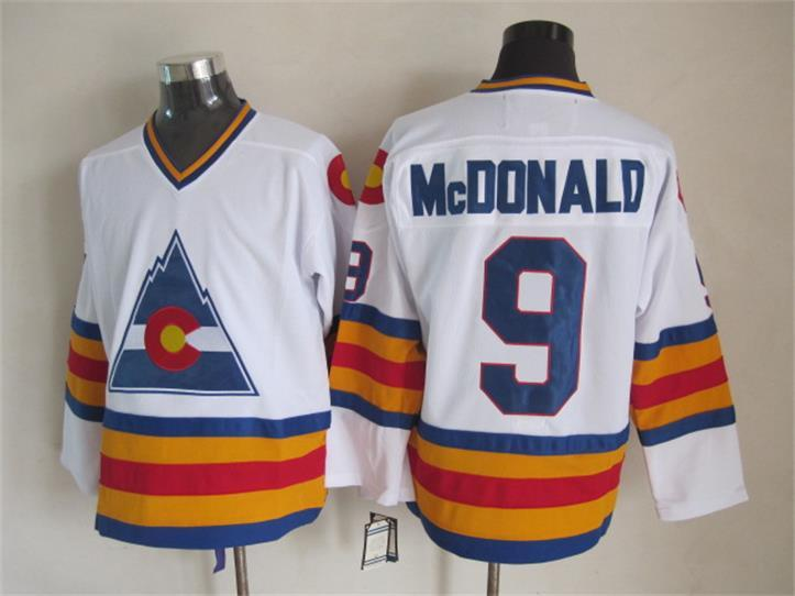 competitive price 705e3 b567e lanny mcdonald colorado rockies jersey