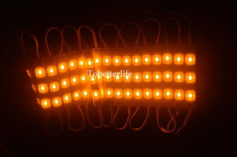 Envío gratis módulo LED lámpara de luz SMD 5730 IP65 módulos LED impermeables para letras de letras luz de fondo 3 led DC 12 V