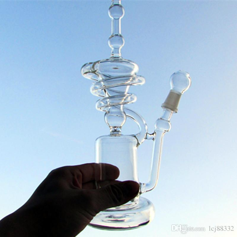 A buon mercato! Tubi Bong Hitman Glass Sundae stack Glass oil rigs tubi d'acqua vetro robusto Pips con giunto maschio 14,4mm