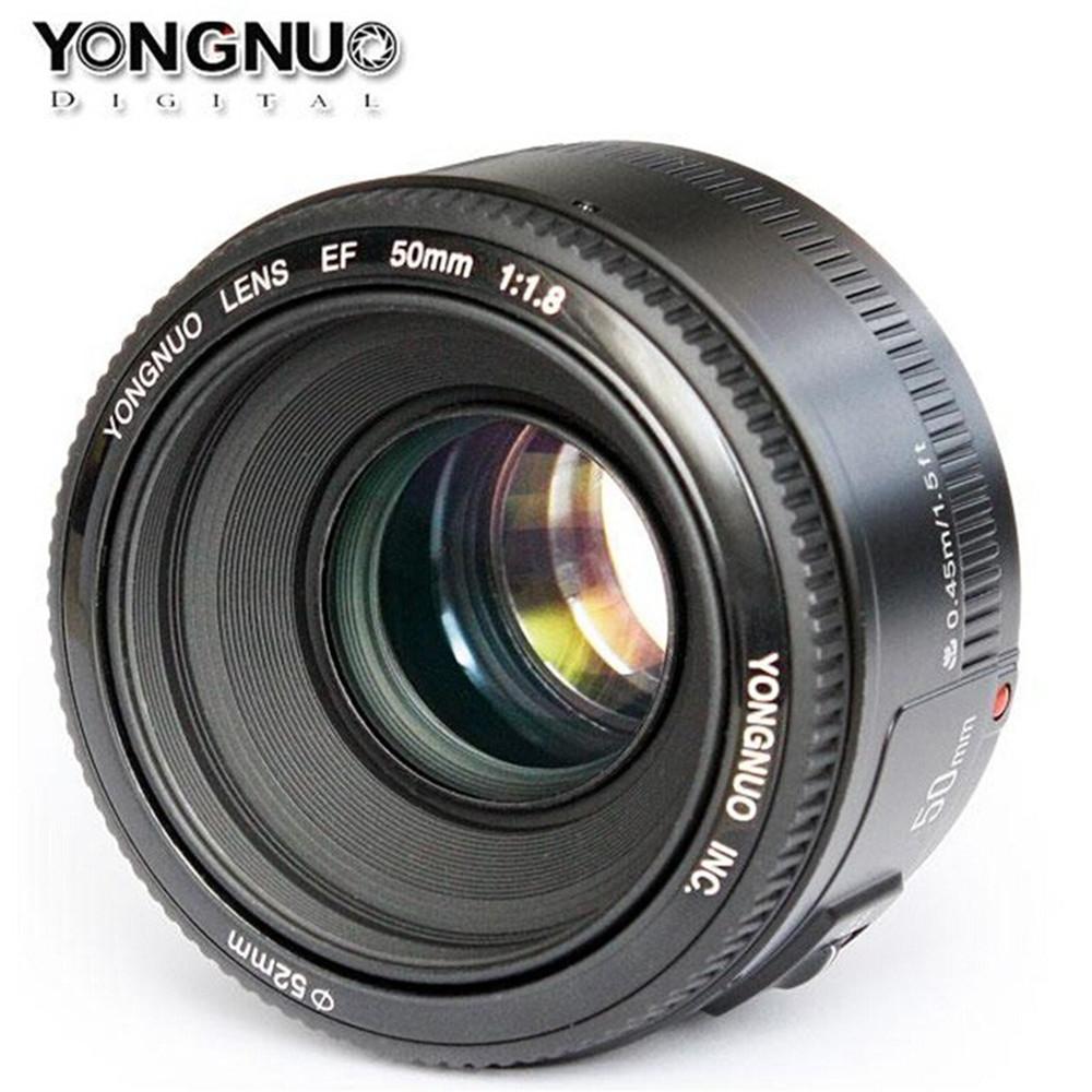 Compre Yongnuo Yn50mm F1.8 Af / Mf De La Lente Para La Cámara Canon ...
