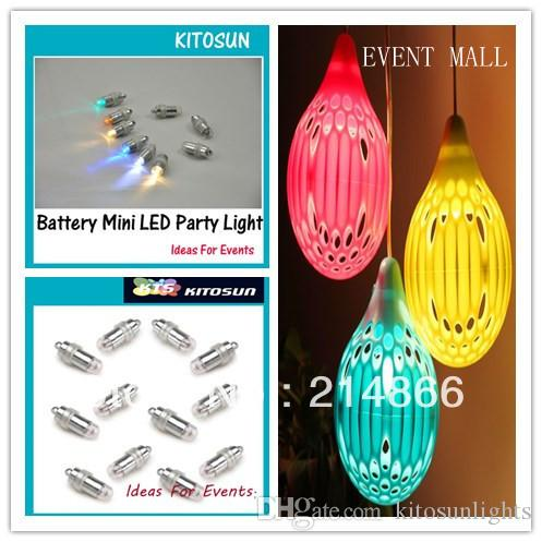 / Colorful Super Bright Battery Mini LED Party Light for Wedding Night Balloon Lantern Decoration